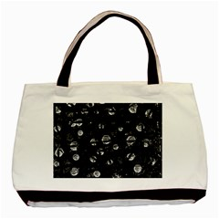 Black and gray soul Basic Tote Bag (Two Sides)