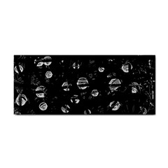 Black and gray soul Hand Towel