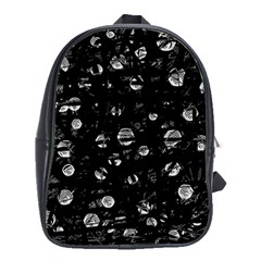Black and gray soul School Bags(Large)