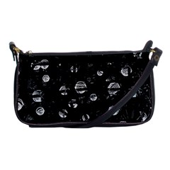 Black and gray soul Shoulder Clutch Bags