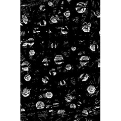 Black and gray soul 5.5  x 8.5  Notebooks