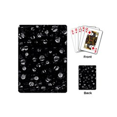 Black and gray soul Playing Cards (Mini)