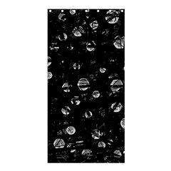Black and gray soul Shower Curtain 36  x 72  (Stall)