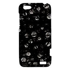 Black and gray soul HTC One V Hardshell Case