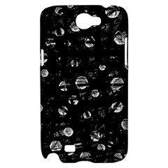 Black and gray soul Samsung Galaxy Note 2 Hardshell Case
