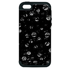 Black and gray soul Apple iPhone 5 Hardshell Case (PC+Silicone)