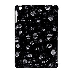 Black and gray soul Apple iPad Mini Hardshell Case (Compatible with Smart Cover)