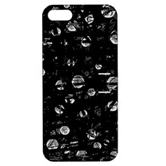 Black and gray soul Apple iPhone 5 Hardshell Case with Stand