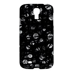 Black and gray soul Samsung Galaxy S4 I9500/I9505 Hardshell Case