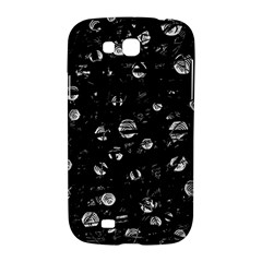 Black and gray soul Samsung Galaxy Grand GT-I9128 Hardshell Case