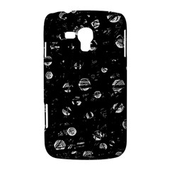 Black and gray soul Samsung Galaxy Duos I8262 Hardshell Case