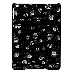 Black and gray soul iPad Air Hardshell Cases
