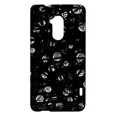 Black and gray soul HTC One Max (T6) Hardshell Case