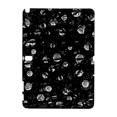 Black and gray soul Samsung Galaxy Note 10.1 (P600) Hardshell Case