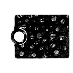 Black and gray soul Kindle Fire HD (2013) Flip 360 Case