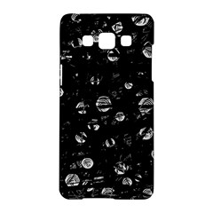 Black and gray soul Samsung Galaxy A5 Hardshell Case