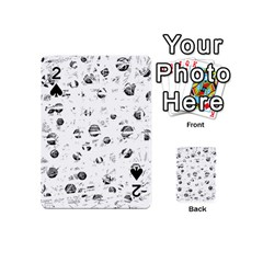 White and gray soul Playing Cards 54 (Mini)