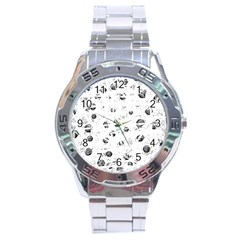 White and gray soul Stainless Steel Analogue Watch