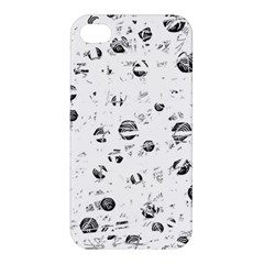 White and gray soul Apple iPhone 4/4S Hardshell Case