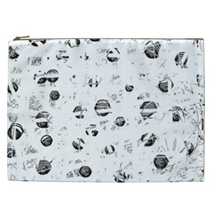 White and gray soul Cosmetic Bag (XXL)