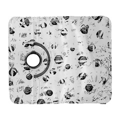 White and gray soul Samsung Galaxy S  III Flip 360 Case
