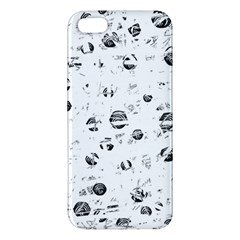 White and gray soul Apple iPhone 5 Premium Hardshell Case