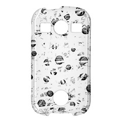White and gray soul Samsung Galaxy S7710 Xcover 2 Hardshell Case