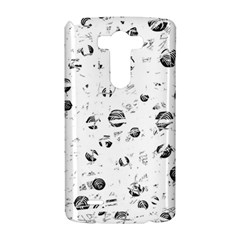 White and gray soul LG G3 Hardshell Case