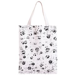 White and gray soul Classic Light Tote Bag