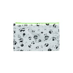 White and gray soul Cosmetic Bag (XS)