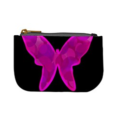 Purple butterfly Mini Coin Purses