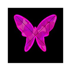 Purple butterfly Acrylic Tangram Puzzle (6  x 6 )