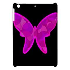 Purple butterfly Apple iPad Mini Hardshell Case