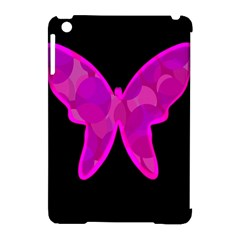 Purple butterfly Apple iPad Mini Hardshell Case (Compatible with Smart Cover)