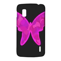 Purple butterfly LG Nexus 4