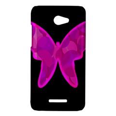 Purple butterfly HTC Butterfly X920E Hardshell Case