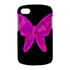 Purple butterfly BlackBerry Q10