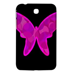 Purple butterfly Samsung Galaxy Tab 3 (7 ) P3200 Hardshell Case