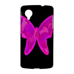 Purple butterfly LG Nexus 5