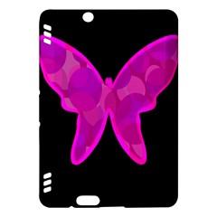 Purple butterfly Kindle Fire HDX Hardshell Case