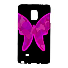 Purple butterfly Galaxy Note Edge