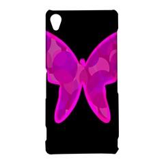 Purple butterfly Sony Xperia Z3