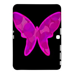 Purple butterfly Samsung Galaxy Tab 4 (10.1 ) Hardshell Case