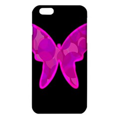 Purple Butterfly Iphone 6 Plus/6s Plus Tpu Case