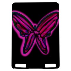 Purple neon butterfly Kindle Touch 3G
