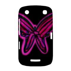 Purple neon butterfly BlackBerry Curve 9380