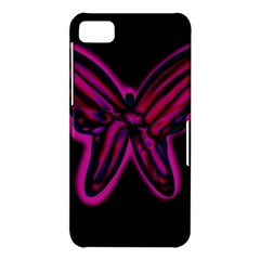 Purple neon butterfly BlackBerry Z10