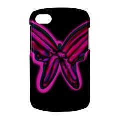 Purple neon butterfly BlackBerry Q10