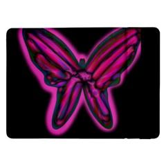 Purple neon butterfly Samsung Galaxy Tab Pro 12.2  Flip Case