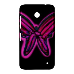 Purple neon butterfly Nokia Lumia 630